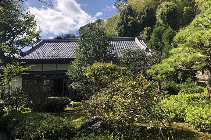 鈴虫寺お庭